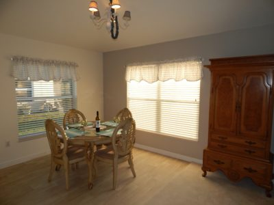 3BR/2Bath Beautiful View, Privacy and Golf Cart Included! The Villages Florida